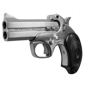 "Bond Arms Century .410/.45 Long Colt 2-Shot 3.5"" Derringer in Satin Stainless (2000) - BAC2K"