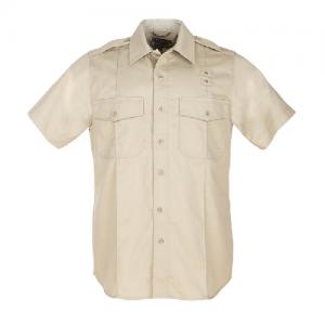 5.11 Tactical PDU Class A Men's Uniform Shirt in Silver Tan - 2X-Large