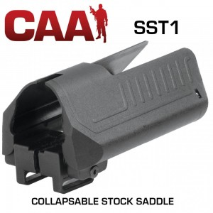 CAA Command Arms Ergonomic Cheek Rest w/2 Compartments For M16/AR15M4 Buttstock SST1
