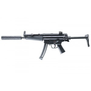 """Walther USA MP5 A5 .22 Long Rifle 10-Round 16.1"""" Semi-Automatic Rifle in Black - 578031010"""