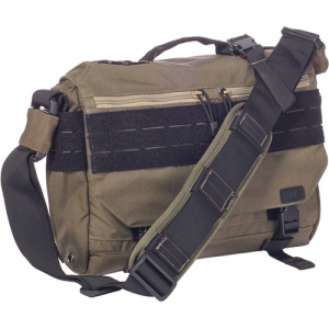 5.11 Tactical Rush MIKE Waterproof Messenger Bag in OD Trail 1050D Nylon - 56176-236-1 SZ