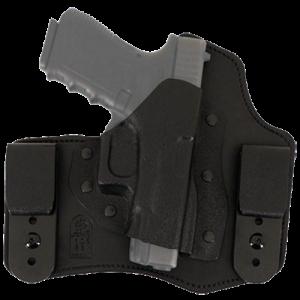 "Desantis Gunhide Intruder Right-Hand Belt Holster for 1911 Commander, Government in Black (4.25"") - 105KA21Z0"