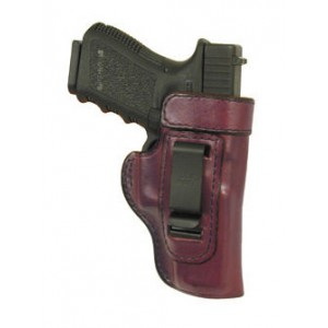 Don Hume H715m Clip-on Holster, Inside The Pant, Fits S&w 908, Right Hand, Brown Leather J168033r - J168033R