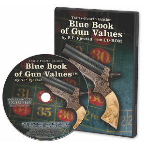 Blue Book 34th Edition of Gun Values on CD-Rom 34CD