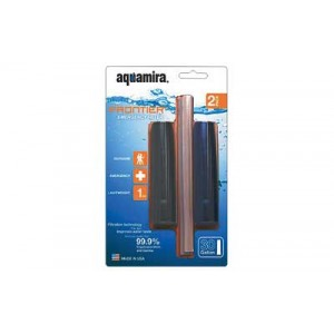 Miraguard Compact Frontier Aquamira Black/Clear Filters 20 Gallons Pack Of 2 67017