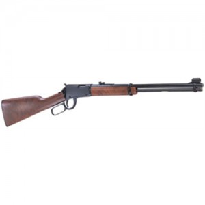 """Henry Repeating Arms Youth .22 Long Rifle 12-Round 16.12"""" Lever Action Rifle in Blued - H001Y"""
