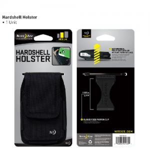 Clip Case Hardshell Holster Color: Black Size: Large