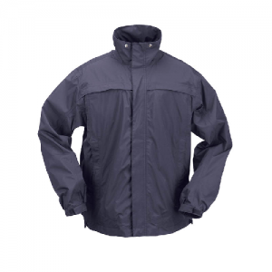 5.11 Tactical Dry Rain Shell Men's Full Zip Jacket in Dark Navy - Medium