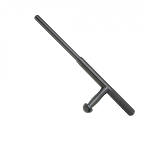 PR-24 side handle batons offer maximum protection and the professional advantage. This design is the most field-tested baton for blocking, controlling and striking.Expandable baton is combat ready with a flick of your wrist and closes easily with the push