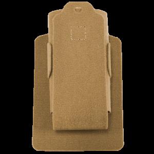 Vertx/Fechheimer MAK Full Size Magazine Pouch in Tan Plain Velcro One-Wrap - VTX5115