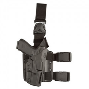 Safariland 7385 ALS Right-Hand Thigh Holster for Glock 17 in STX Plain (W/ Surefire X300U) - 7385-832-411