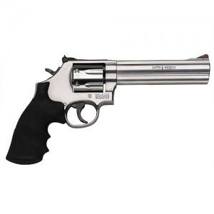 "Smith & Wesson 686 Plus .357 Remington Magnum 7-Shot 6"" Revolver in Satin Stainless (Distinguished Combat Magnum) - 164198"