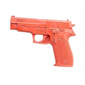 Asp Sig 220/226 Red Gun, Rubber, Red Finish 7303