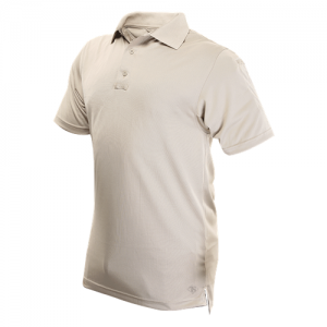 Tru Spec 24-7 Men's Short Sleeve Polo in Silver Tan - Large