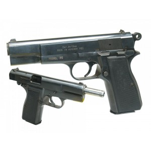 """Pre-Owned Browning - Imported by LSY Defense High Power Clone FEG 35 9mm 13+1 4.64"""" Pistol in Blued - FEG35-SYBB-PO"""
