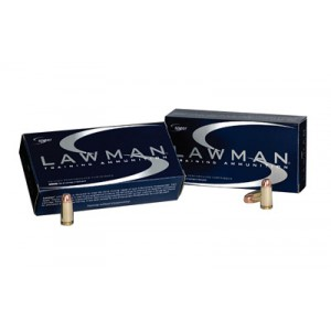 CCI Speer Speer Lawman .40 S&W Total Metal Jacket, 180 Grain (50 Rounds) - 53652