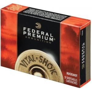 "Federal Cartridge Vital-Shok Trophy .12 Gauge (3"") Slug (Sabot) Copper (5-Rounds) - P151TC"