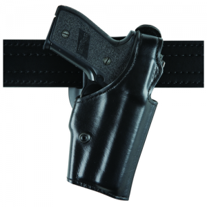 "Safariland 200 Top Gun Level 1 Right-Hand Belt Holster for Glock 21 in Hi-Gloss Black (4.6"") - 200-383-91"