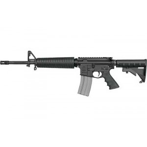 "DS Arms AR-15 .223 Remington/5.56 NATO 30-Round 16"" Semi-Automatic Rifle in Black - DSZM4MIDLENGTH"