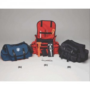 EMI Pro Response Trauma Bag in Black Nylon - 624