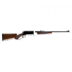 """Browning BLR Lightweight Take-Down 7mm Remington Magnum 3-Round 24"""" Lever Action Rifle in Blued - 34012127"""