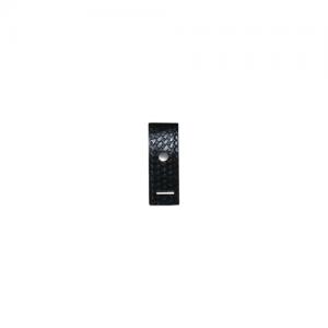 Epaulet Shoulder Mic Holder w/ Reinforced Slot Only Snap: Nickel Finish: Plain