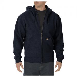 Dickies Midweigth Fleece Men's Full Zip Hoodie in Dark Navy - Medium