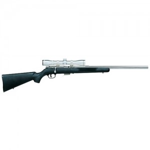 """Savage Arms 93 Magnum FVSS XP .22 Winchester Magnum 5-Round 21"""" Bolt Action Rifle in Stainless Steel - 95200"""