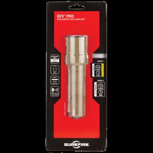 "Surefire G2X Flashlight in Tan (5.2"") - G2XDTN"