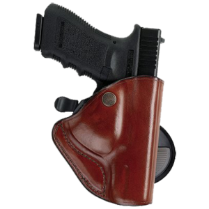"Bianchi 23222 PaddleLok Concealment Holster 83 Fits Belts up to 1.75"" Black Leat - 23222"