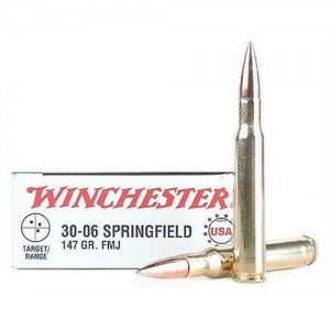 Winchester Best Value .30-06 Springfield Full Metal Jacket, 147 Grain (20 Rounds) - USA3006