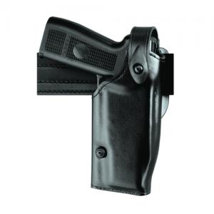 Safariland Level II Retention, Mid-Ride Right-Hand Belt Holster for FN Herstal Five-Seven in STX Black Basketweave - 6280-6121-481