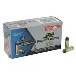 Aguila Super Colibri .22 Long Rifle Lead Solid, 20 Grain (50 Rounds) - AGUA1B222339