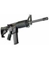 """CORE Core 15 Scout Government Model .223 Remington/5.56 NATO 30-Round 16"""" Semi-Automatic Rifle in Black - 14045"""