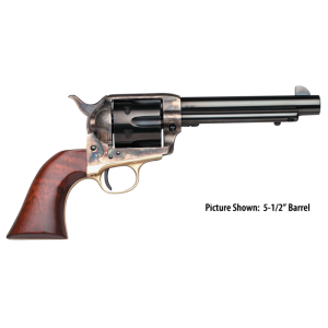 "Taylors & Co 1873 Cattleman .357 Remington Magnum 6-Shot 4.8"" Revolver in Blued (Ranch Hand) - 440"