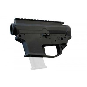 Angstadt Arms 0940 Lower/upper Receiver Set, Semi-automatic, Accepts Glock Style Magazines In 40 S&w, 9mm, And 357 Sig, Matte Black Finish, Lower Receiver Is Not Compatible With Magpul Pmag Gl9 Magazines Aa0940rsba