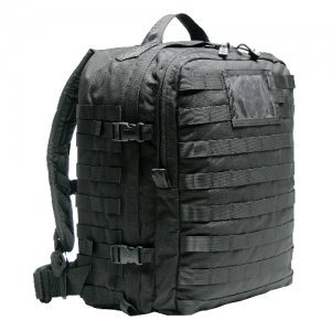 S.T.O.M.P. Medical Back Pack  S.T.O.M.P. Medical Back Pack Black S.T.O.M.P. II was designed to SEAL team medic specifications. All material is made of heavy-duty 1000 denier nylon. All padded areas are closed cell foam. The adjustable shoulder straps, ste