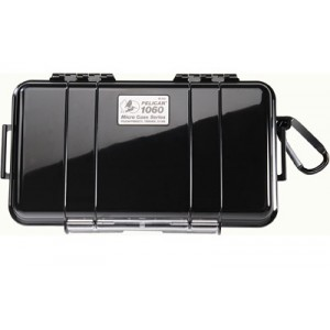 "Pelican 1060 Case, 8.25""x4.25""x2.25"", Black 1060-025-110"