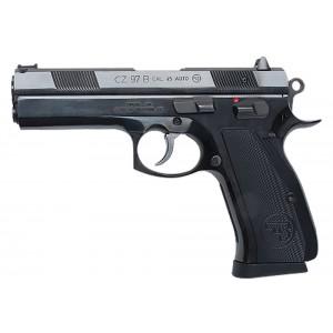 """CZ 97 .45 ACP 10+1 4.8"""" Pistol in Black Steel (B *CA Compliant*) - 1401"""
