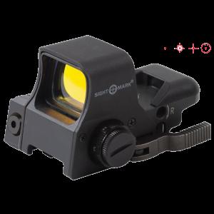 SightMark Ultra Dual Shot 1x33x24mm Sight in Black - SM14003