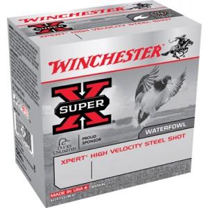 """Winchester Expert Hi-Velocity Waterfowl .12 Gauge (3"""") 2 Shot Steel (250-Rounds) - WEX1232"""