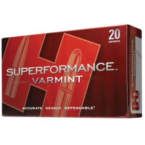 Hornady Superformance .243 Winchester V-Max, 58 Grain (20 Rounds) - 8343