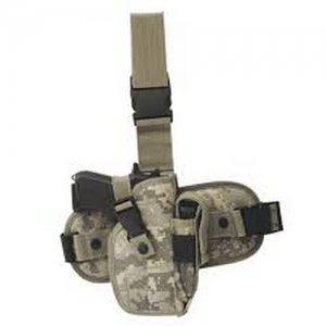 Drop Leg Platform with Removable Holster Color: Army Digital