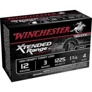 "Winchester Xtended Range .12 Gauge (3"") 4 Shot Tungsten (10-Rounds) - STXS1234"