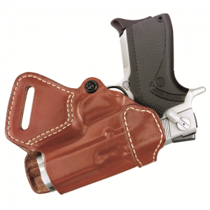 Small of Back Holster  Small of Back Holster Chestnut Brown Finish Fits most 1911-type pistols with 4 to 5 bbl incl. BROWNING HP; COLT Commander, Elite, Gold Cup, Govt; KIMBER Compact, Custom, Elite, Pro CDP; PARA-ORDNANCE P13, P14 .45, P15, P16; SPRINGFI