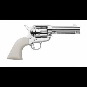 """Traditions 1873 .45 Long Colt 6-Shot 4.75"""" Revolver in Nickel (Frontier Nickel) - SAT73131"""