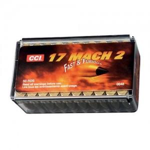 CCI 17 Mach 2 17 Grain V-Max, 50 Round Box, 0048