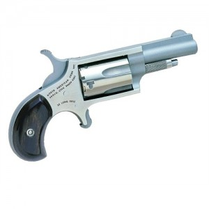 "North American Arms Mini-Revolver .22 Long Rifle 5-Shot 1.62"" Revolver in Stainless - 22LLR"