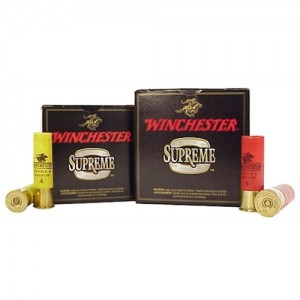 """Winchester Supreme Double Magnum .12 Gauge (3"""") 4 Shot Lead (25-Rounds) - X12MXC4"""