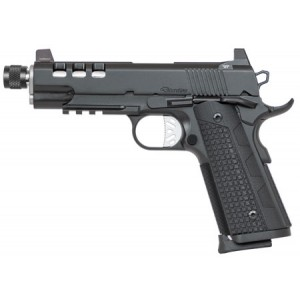 """Dan Wesson Discretion Commander 9mm 10+1 5"""" 1911 in Stainless Steel - 01888"""